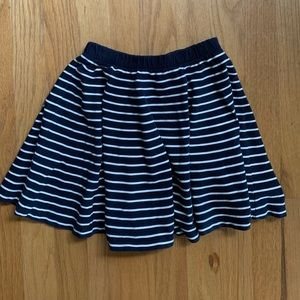 COS Navy and White Striped Skirt size 4-6 Years